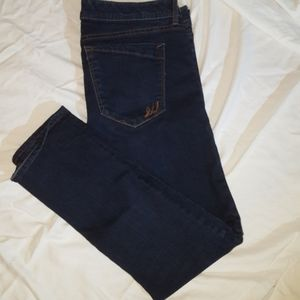 Express Jeans.  Cropped, skinny